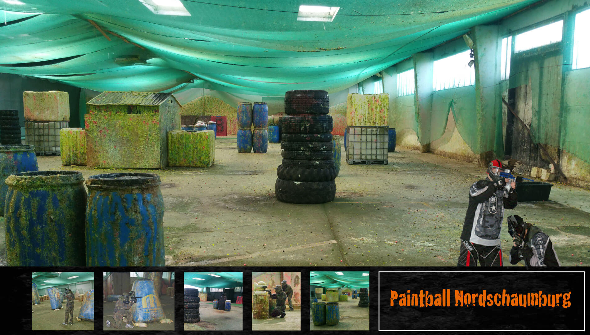 Paintball Nordschaumburg bei Hannover